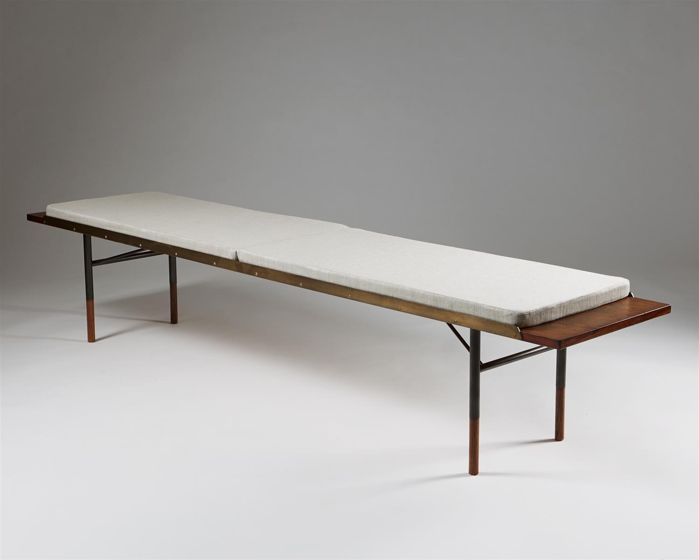 Prime Bench Bo101 Designed By Finn Juhl For Bovirke Modernity Pabps2019 Chair Design Images Pabps2019Com