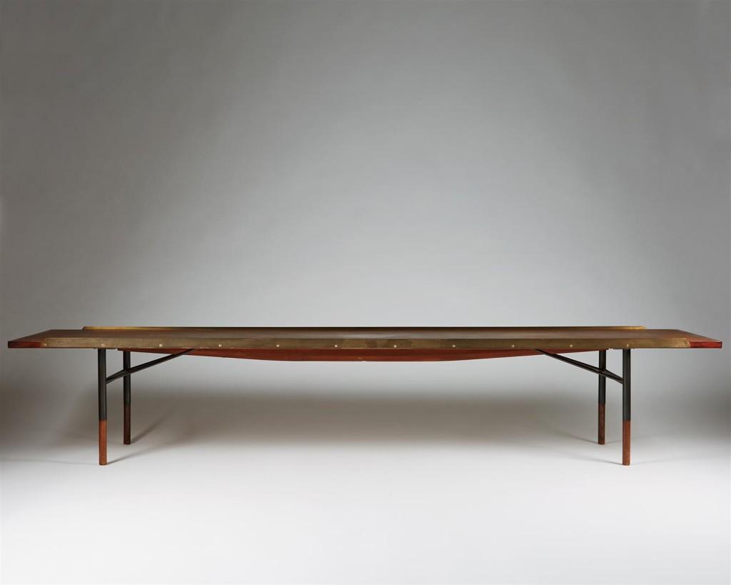 Wondrous Bench Bo101 Designed By Finn Juhl For Bovirke Modernity Pabps2019 Chair Design Images Pabps2019Com