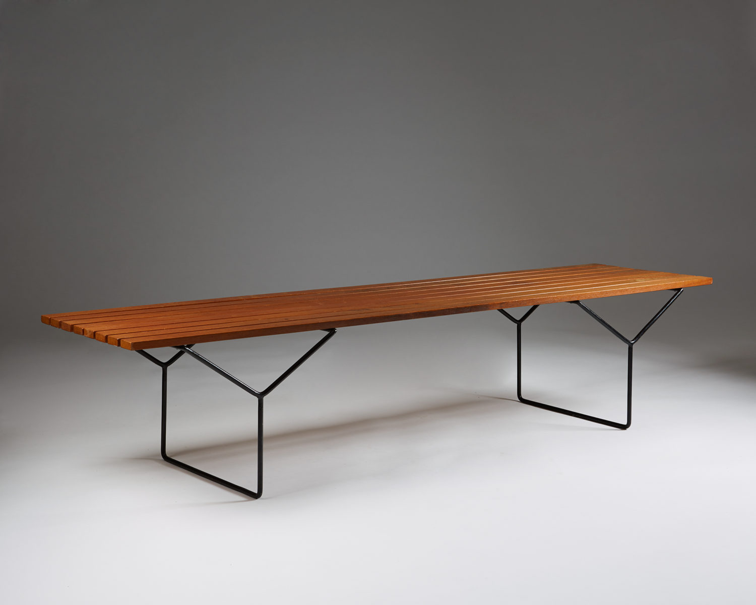 Bench Designed By Harry Bertoia For Knoll International Modernity